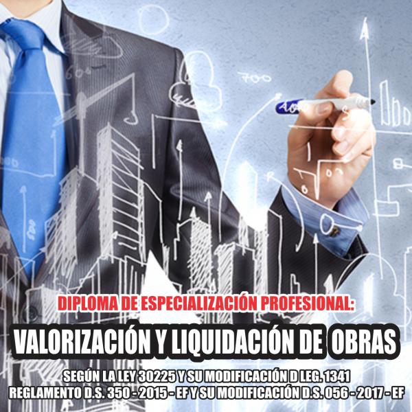 valorizaciones y liquidaciones